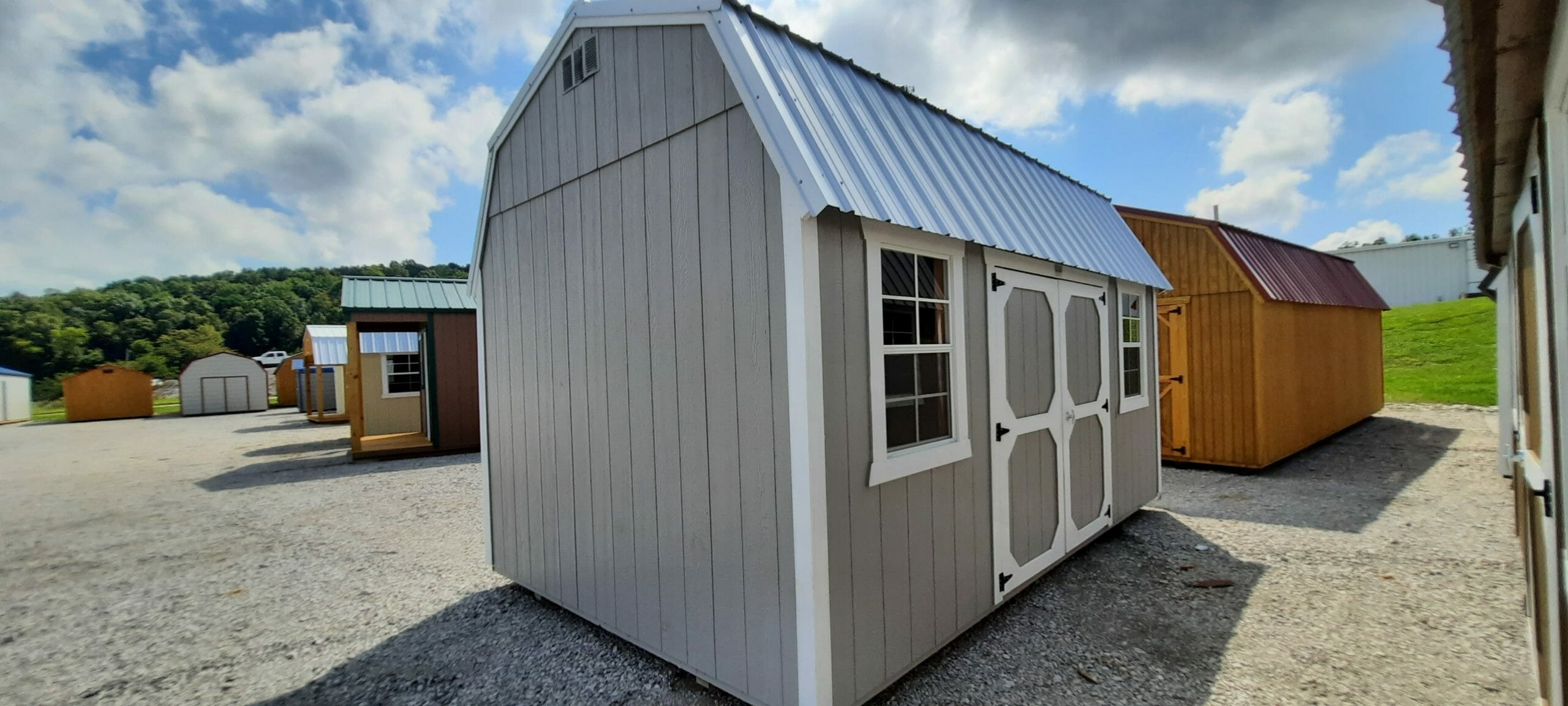 10 x 16 Lofted Building ONLY $99 Down- GGS643