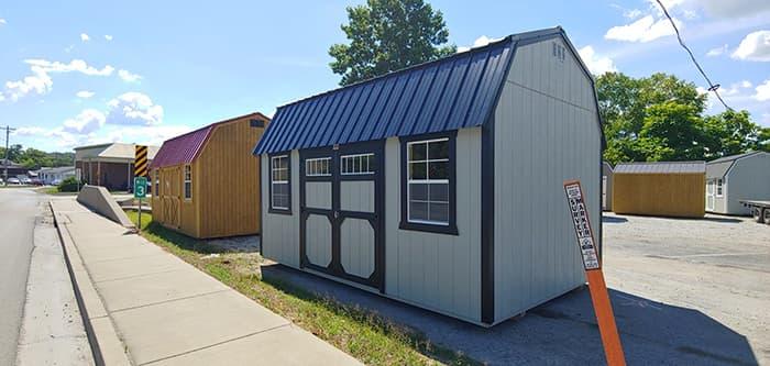 10 x 16 Lofted Building-WND260