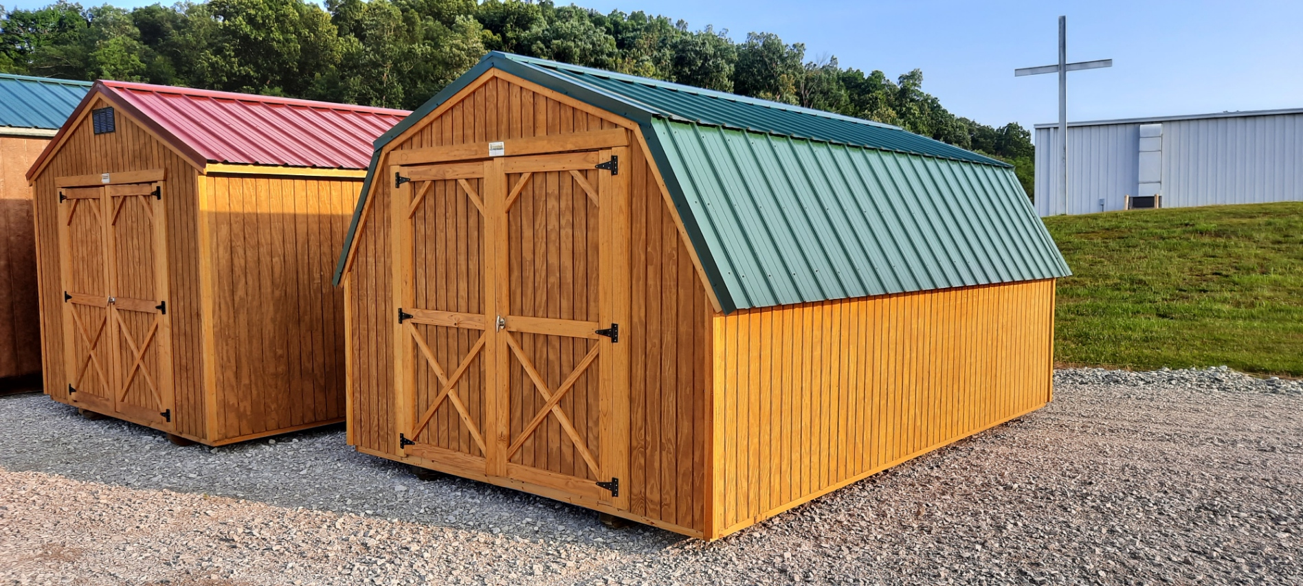 10 x 16 Barn Shed ONLY $99 Down-NBS495