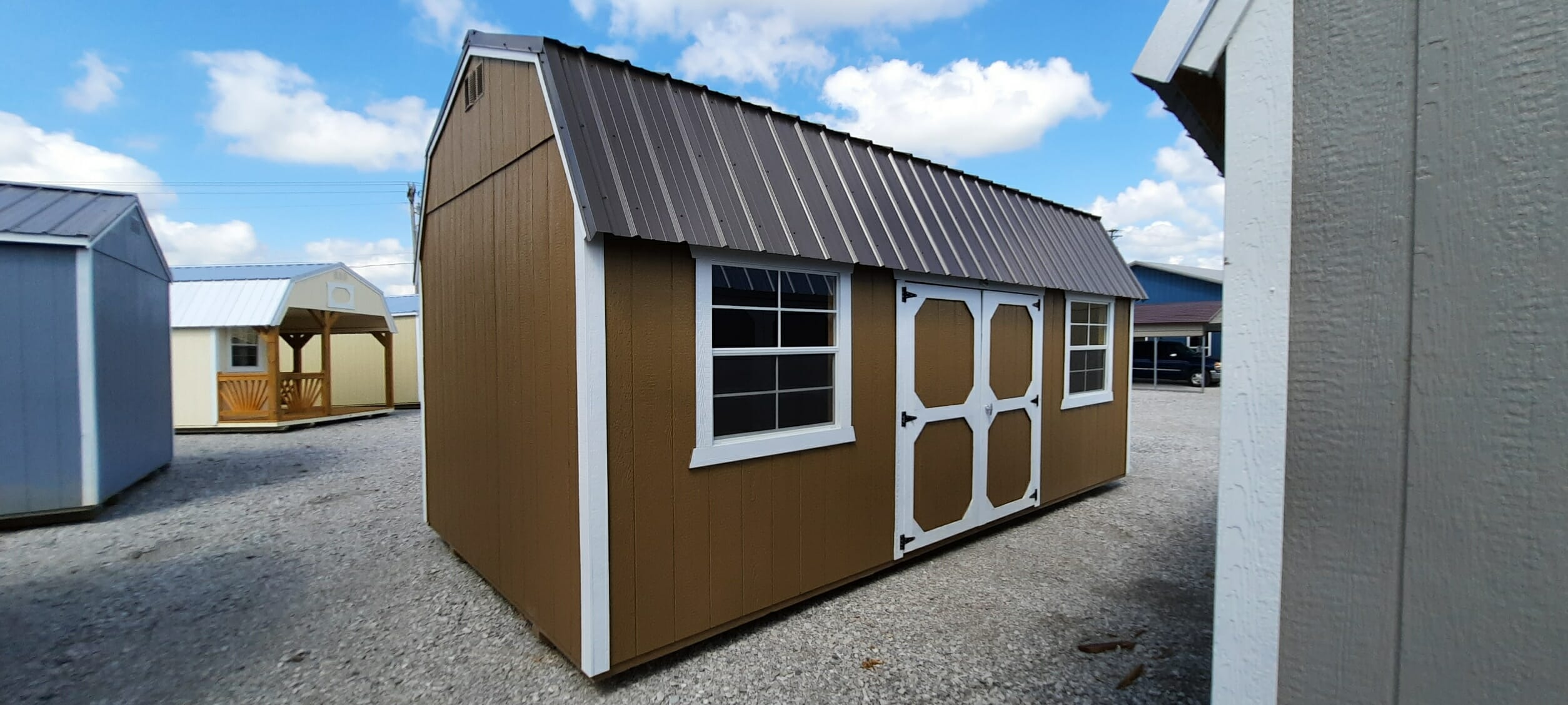 10 x 20 Lofted Building ONLY $99 Down- BUCK813