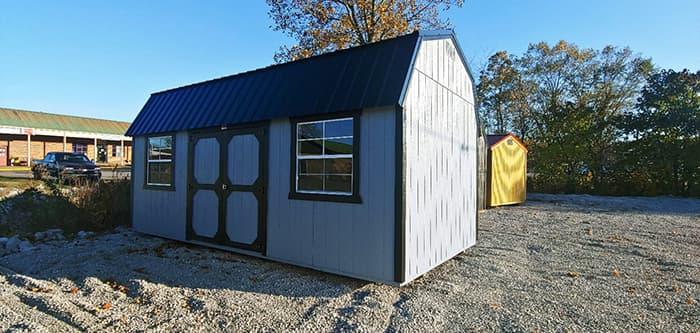 10 x 20 Lofted Building-SSB845