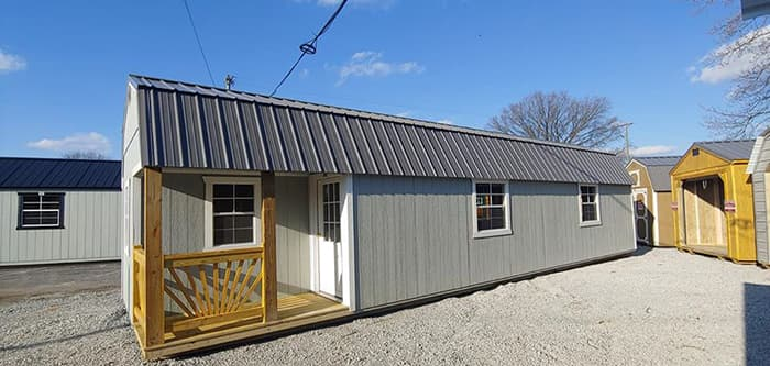 12 x 40 Lofted Cabin ONLY $99 Down -GCP032