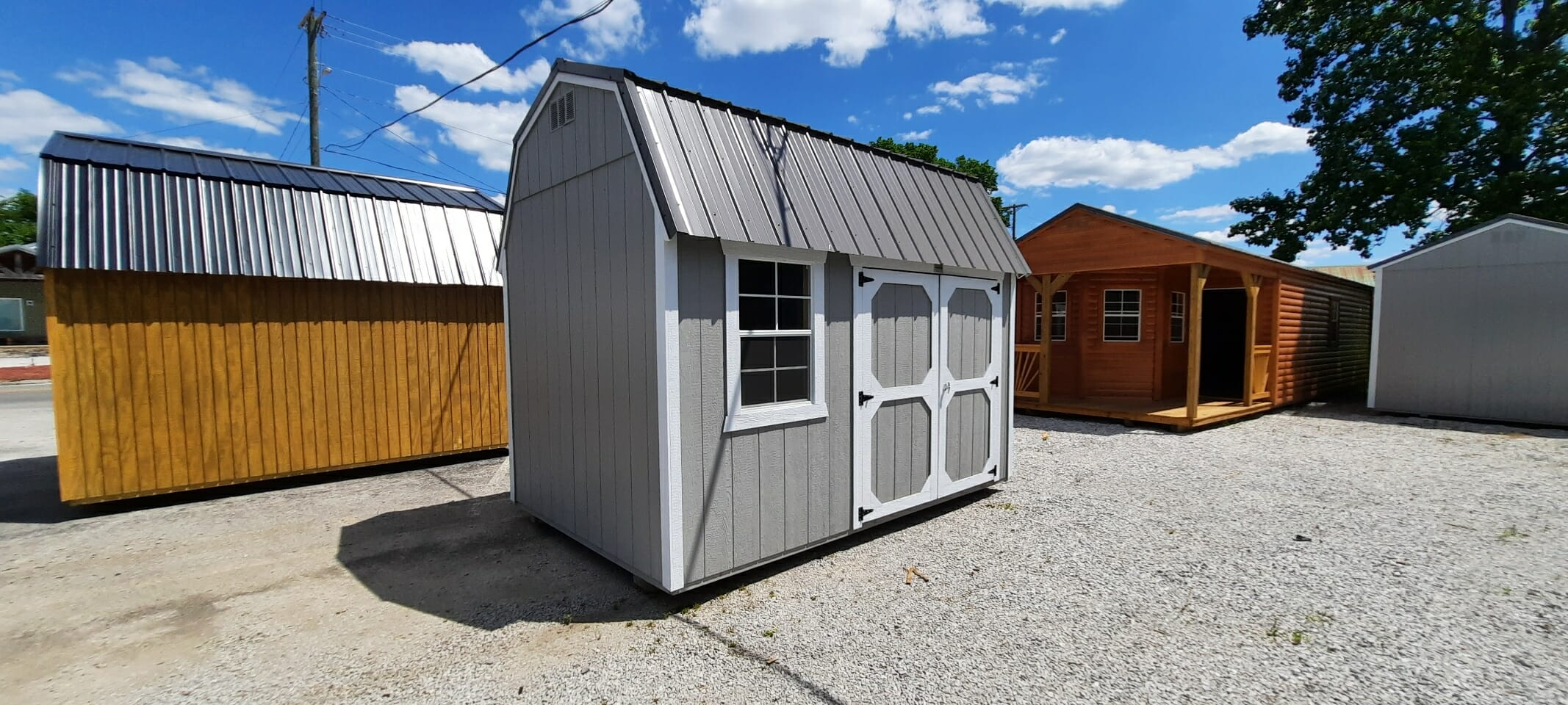 8 x 12 Lofted Building ONLY $99 Down-LOF812