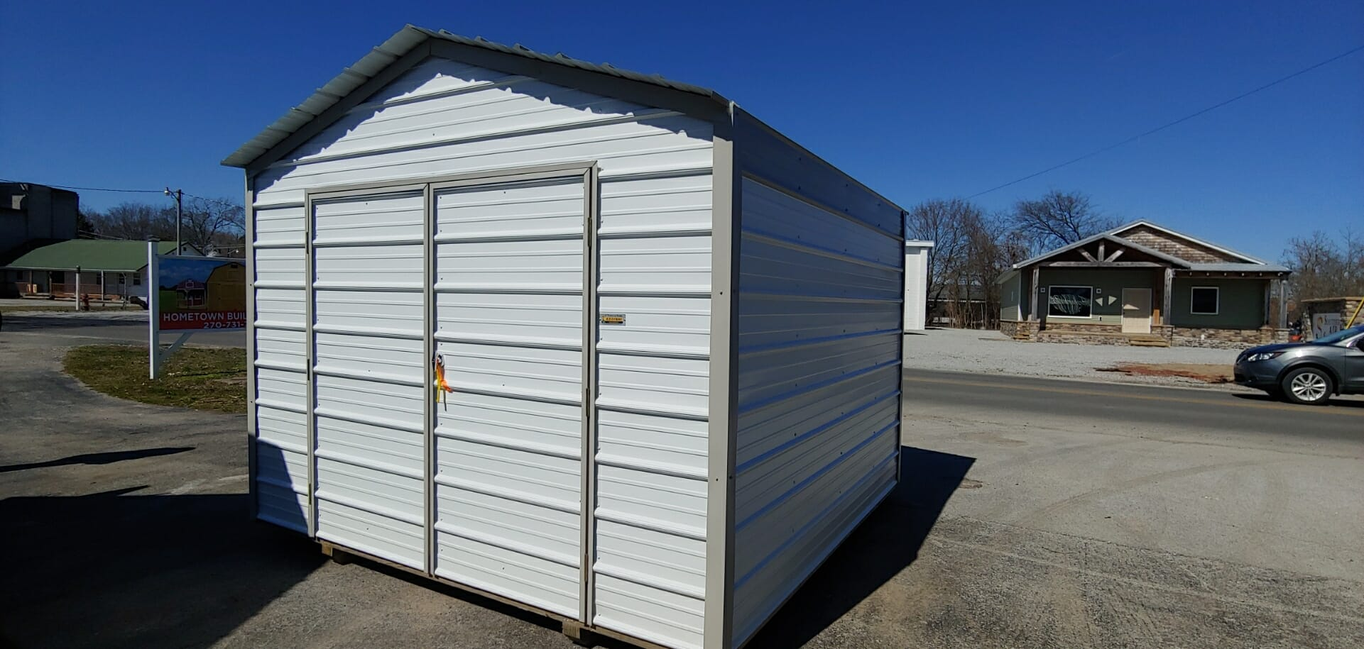 10 x 10 Metal Shed ONLY $99 Down- BA1010
