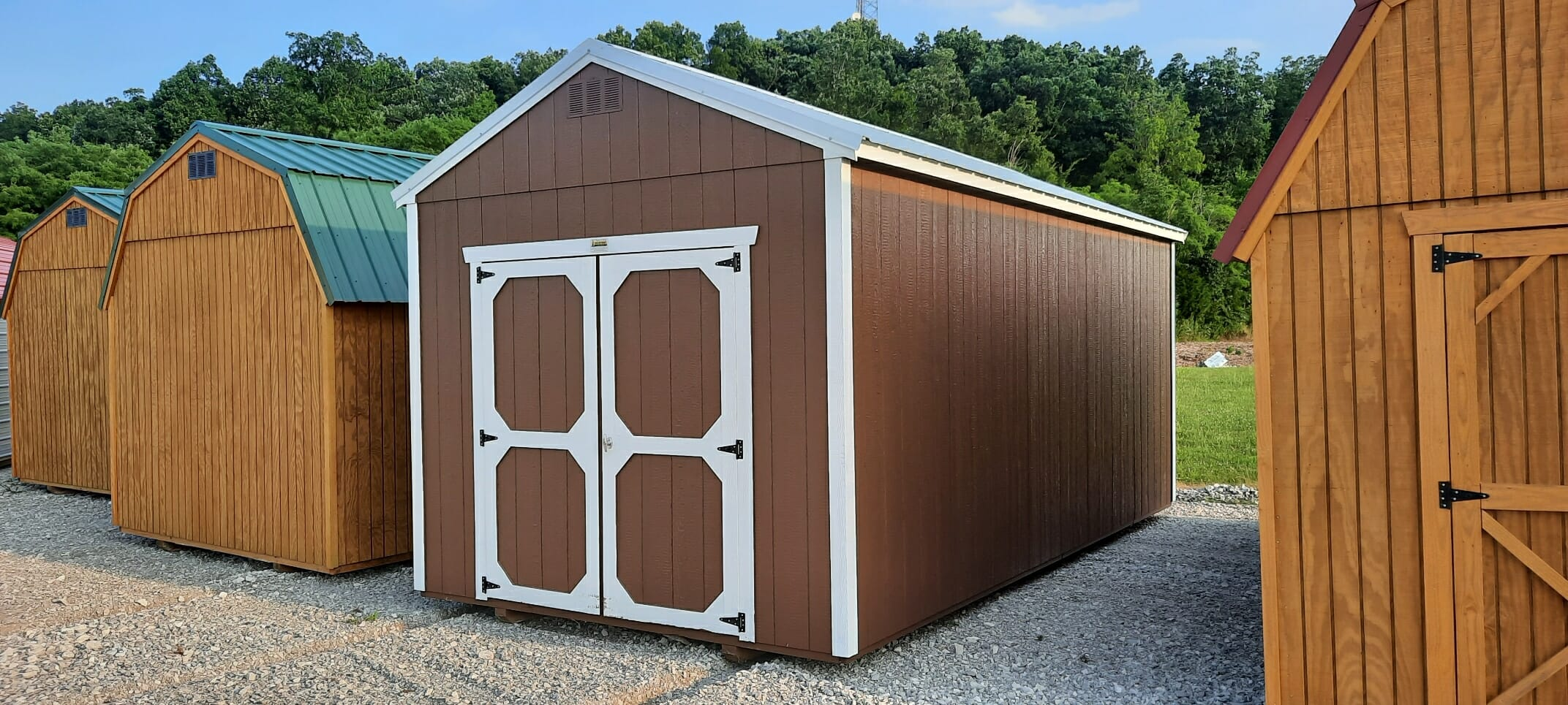 10 x 20 Utility Shed- BRS823