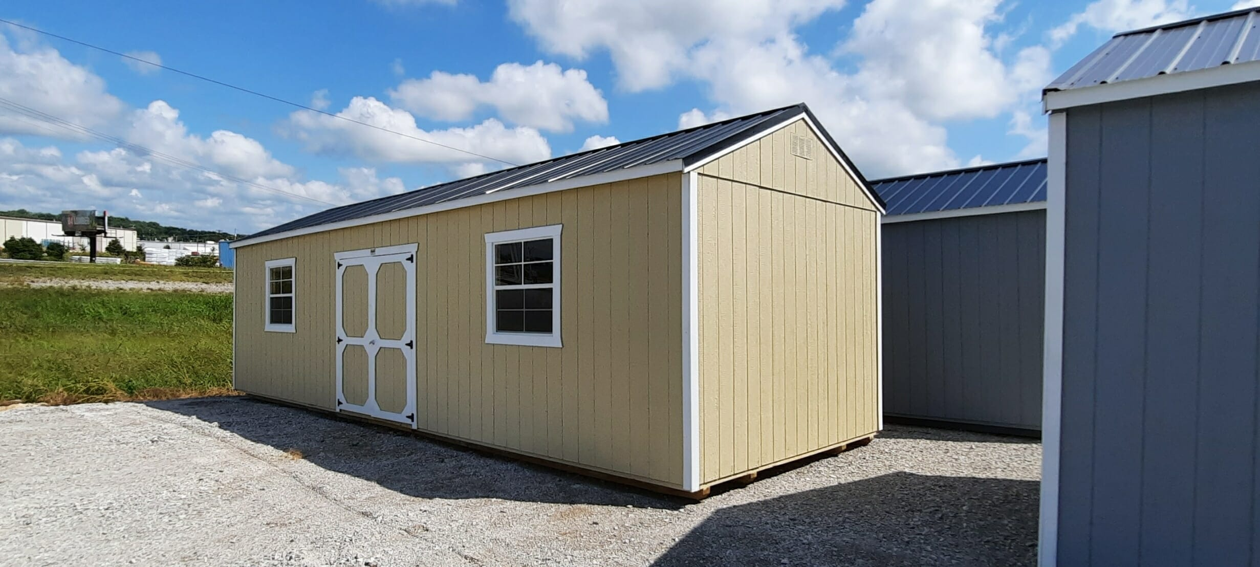 12 x 32 Utility Shed ONLY $361 Down- BBB708