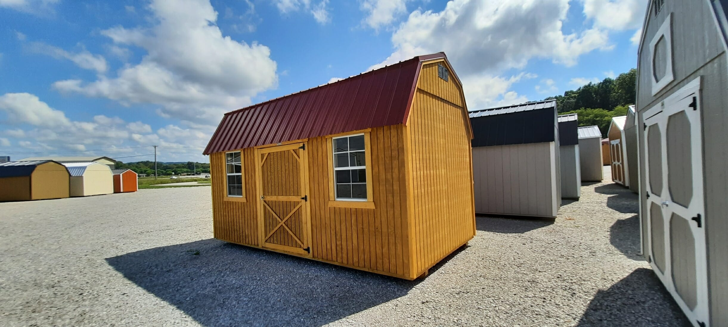8 x 16 Lofted Building ONLY $161 Down- RUST816